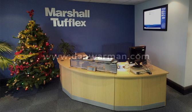 Marshall-Tufflex Digital Signage